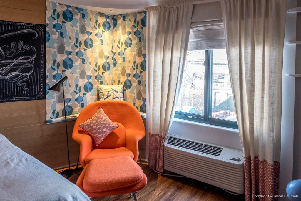 Ronald McDonald House - Our Bed Room