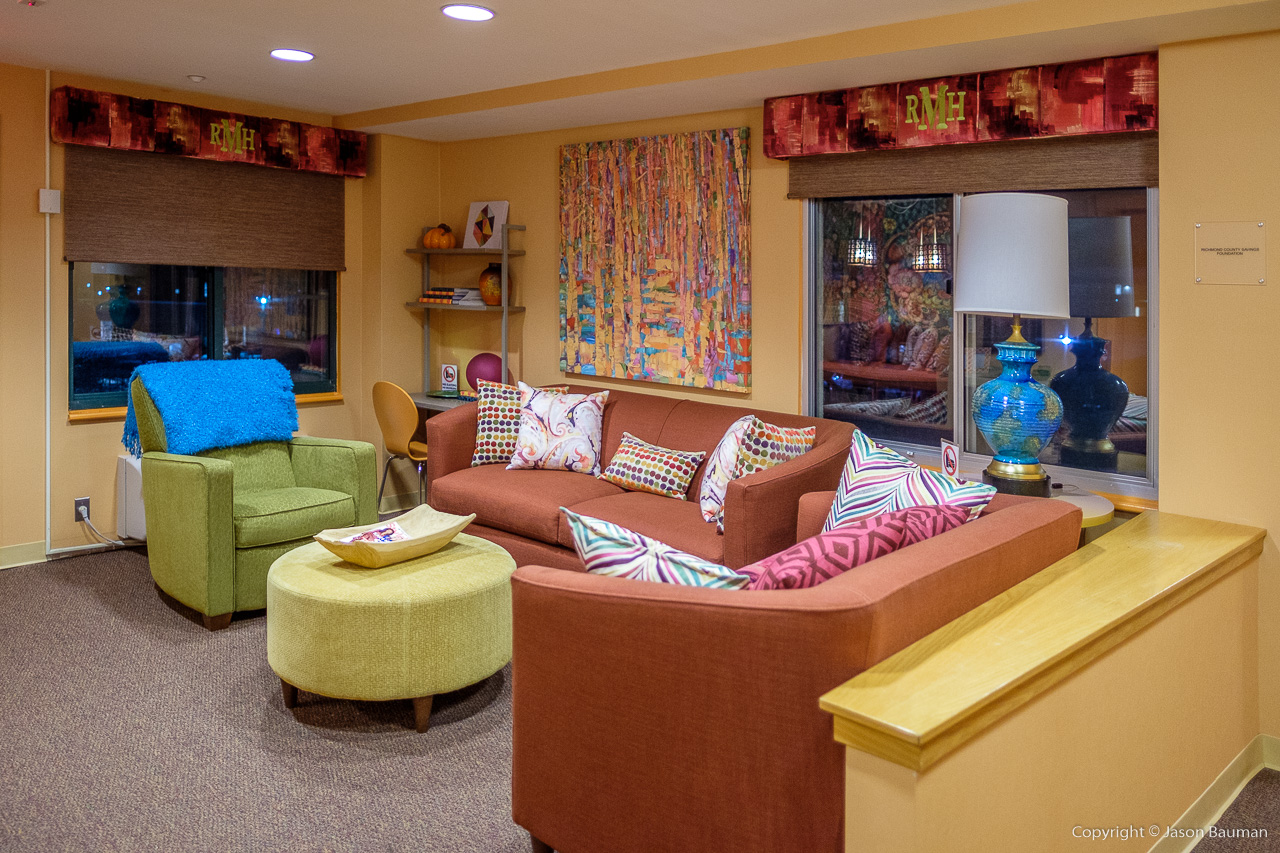 Ronald McDonald House - One of many floor common areas