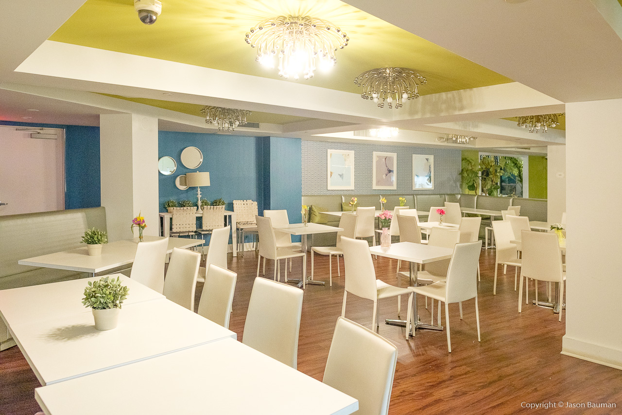 Ronald McDonald House - The dining room