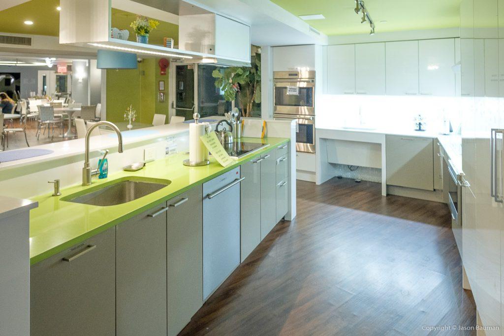 Ronald McDonald House - The kitchen